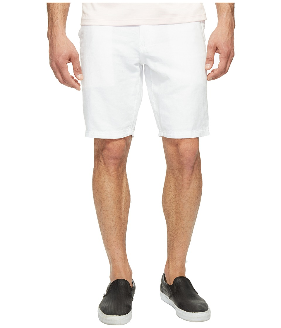 Dockers Premium - Drawcord Shorts (Paper White Linen) Men's Shorts