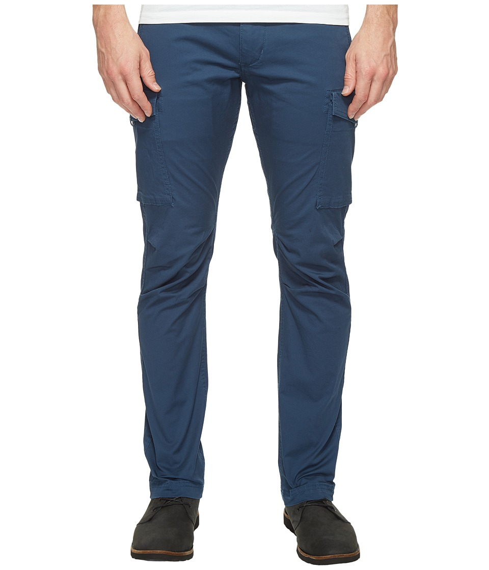 Dockers Premium Broken in Chino Straight Fit Cargo (Moonlit Ocean) Men