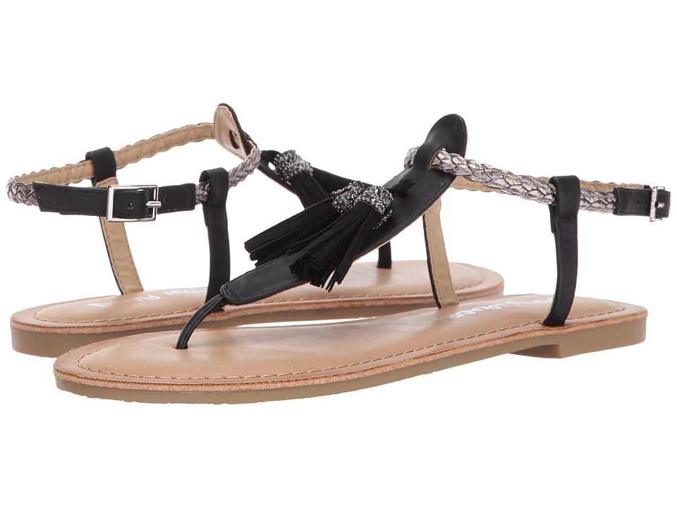 Dirty Laundry - DL Notice Me (Black/Pewter) Women's Sandals