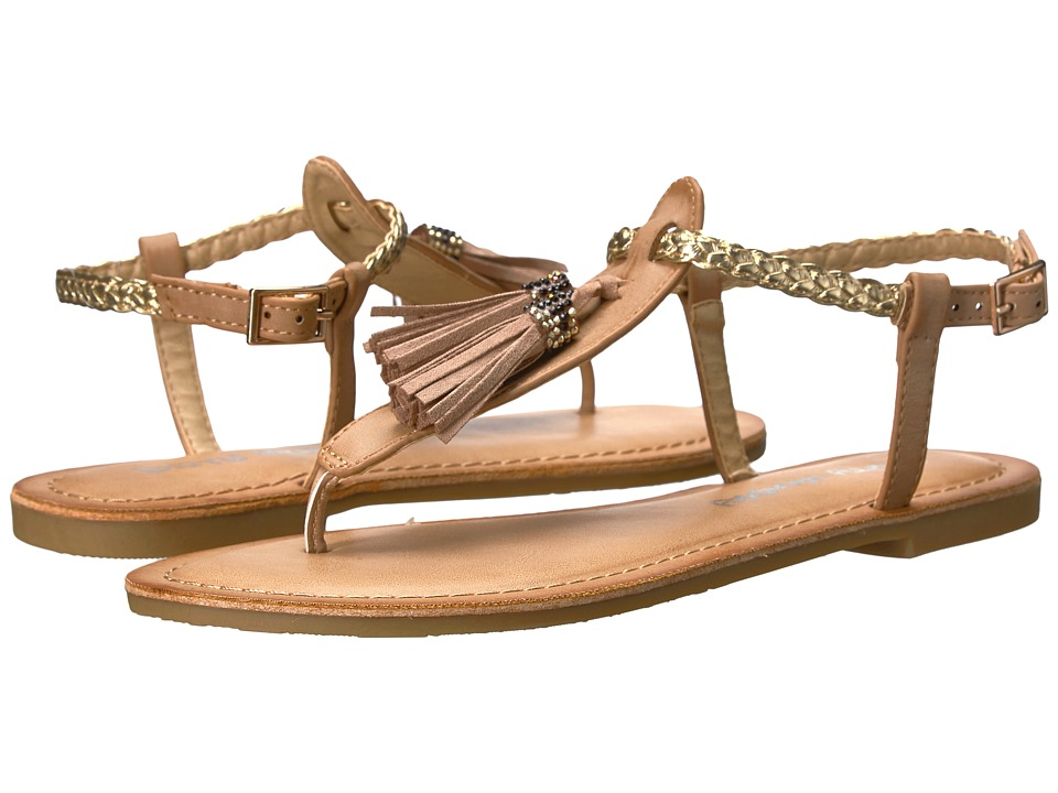 Dirty Laundry - DL Notice Me (Dark Nude) Women's Sandals