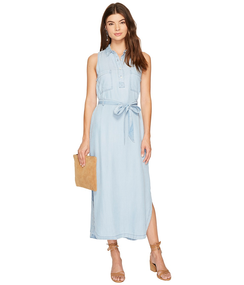 BB Dakota - Maisie Chambray Shirtdress (Light Blue) Women's Dress