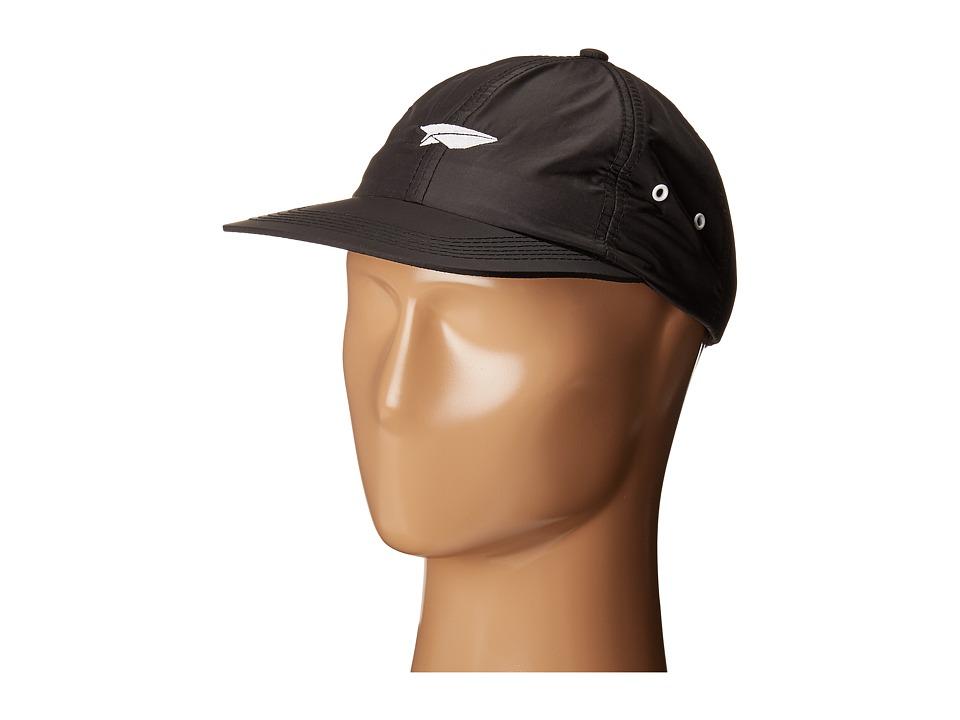 Image of Benny Gold - Paper Plane Nylon Polo Hat (Black) Caps
