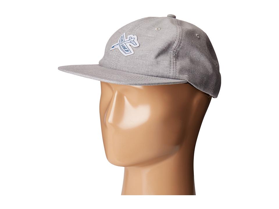 Benny Gold - Glider Oxford Polo Hat (Grey) Caps