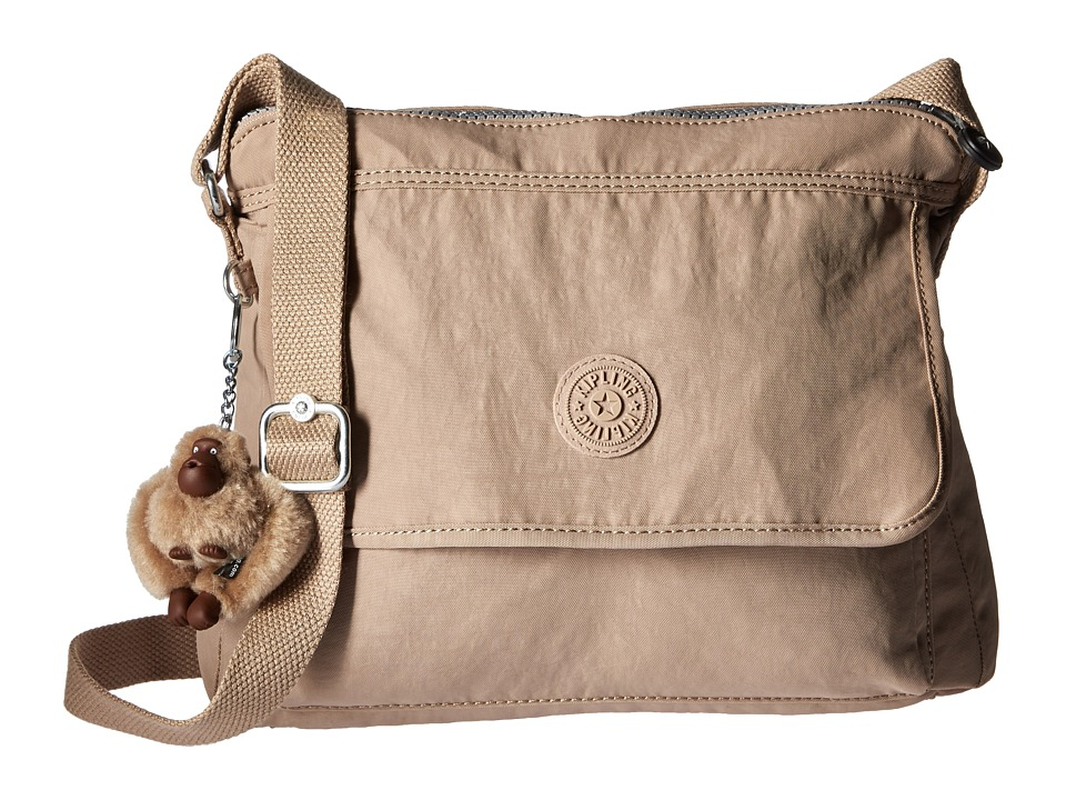Kipling - Aisling Crossbody Bag (Hummus) Handbags