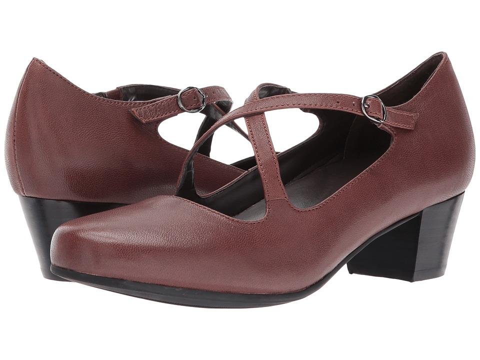 David Tate Cima (Brown Leather) Women