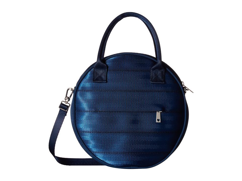 Harveys Seatbelt Bag - Circle Bag (Indigo) Handbags