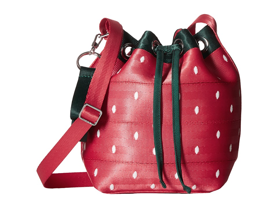 Harveys Seatbelt Bag - Mini Bucket (Strawberry Fields) Handbags
