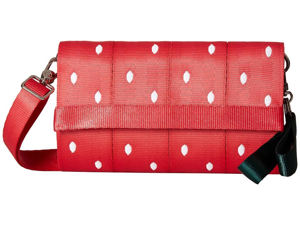 Harveys Seatbelt Bag - Streamline Wallet (Strawberry Fields) Bill-fold Wallet