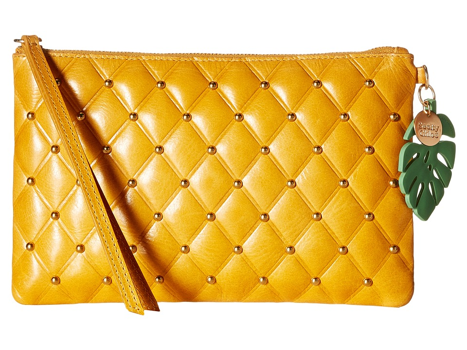 See by Chloe - Zipped Flat Pouch (Honey) Handbags