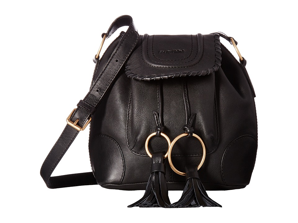 See by Chloe - Polly Small Bucket (Black) Shoulder Handbags