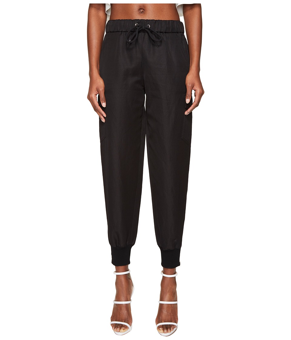 Jeremy Scott - Jogger Trousers (Black) Women's Casual Pants