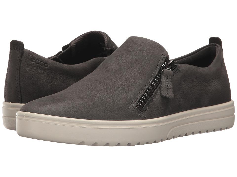 ECCO - Fara Zip (Dark Shadow) Women's Shoes