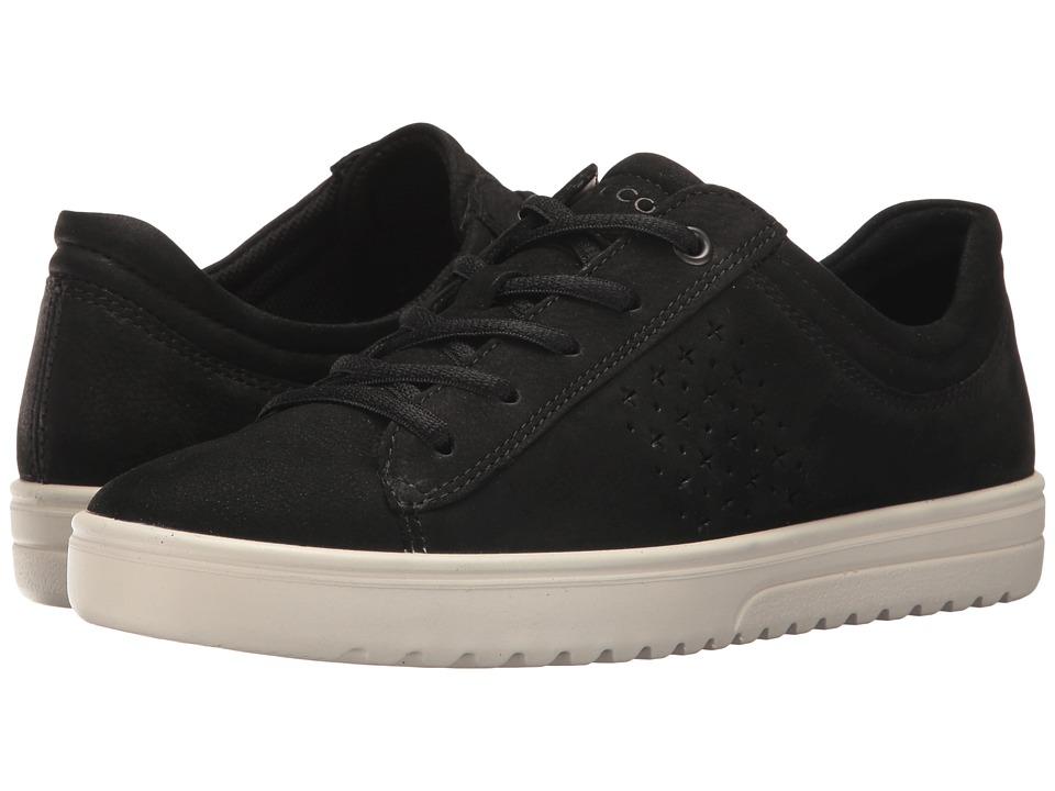 ECCO - Fara Tie (Black 2) Women's Lace up casual Shoes