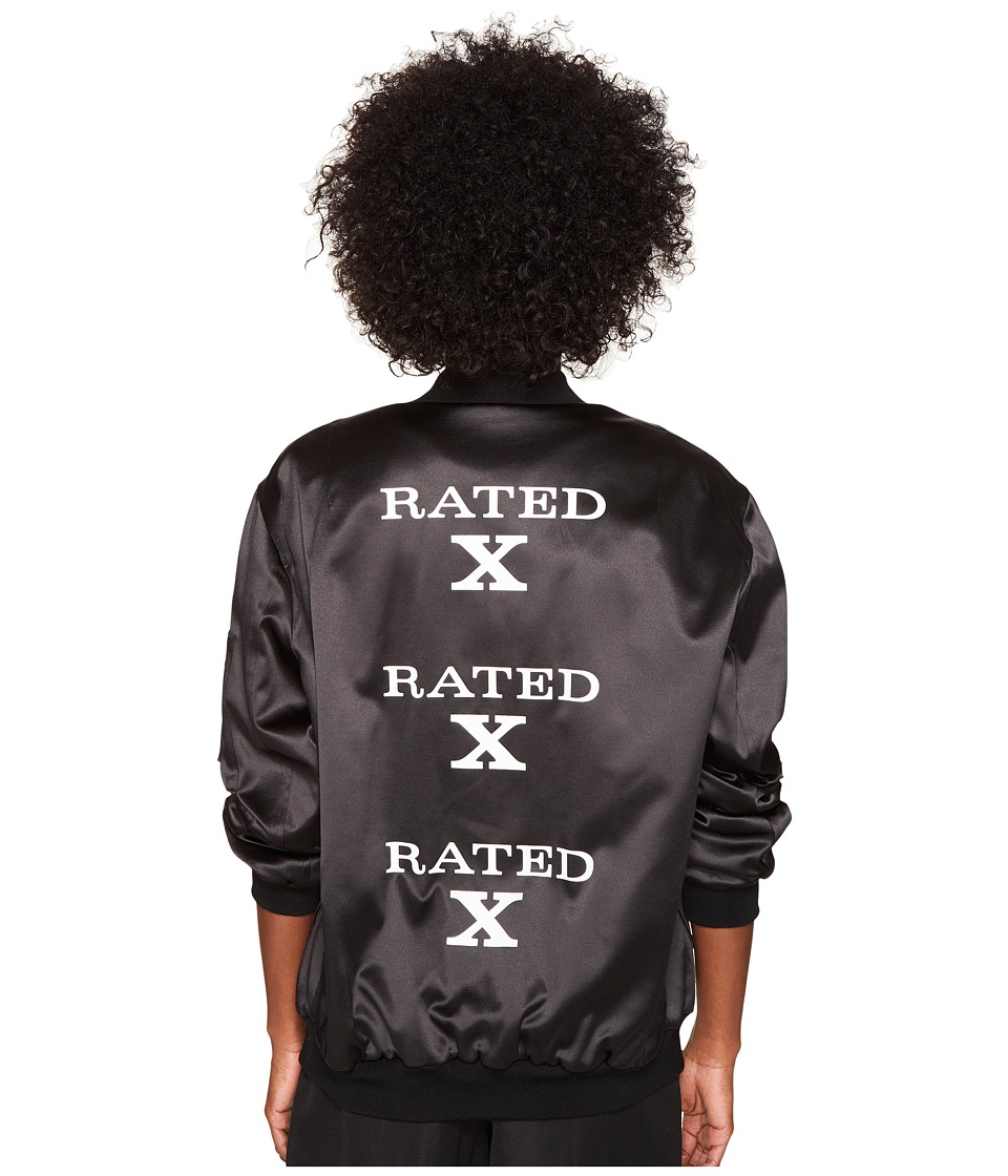 Jeremy Scott - Rated X Long Jacket (Black) Coat