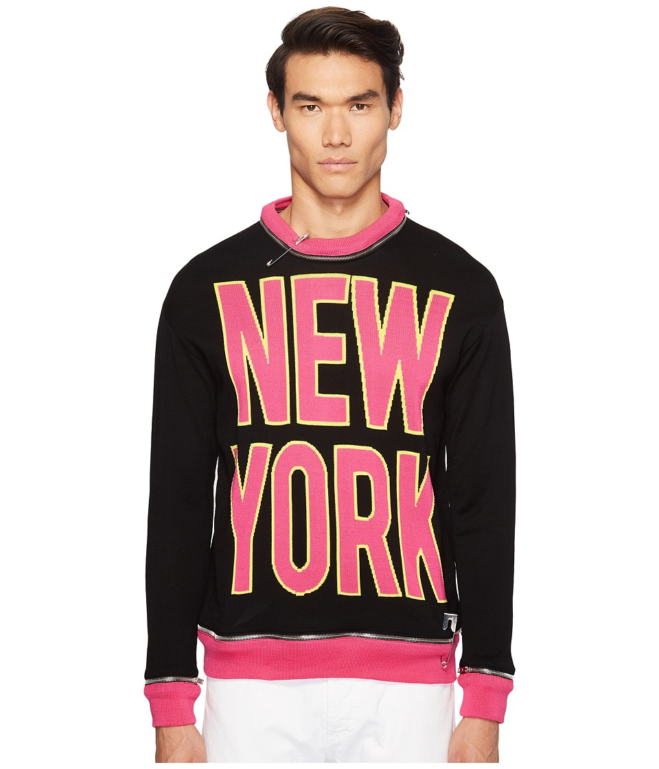 Jeremy Scott - Vintage New York Sweater (Black NY Print) Sweater