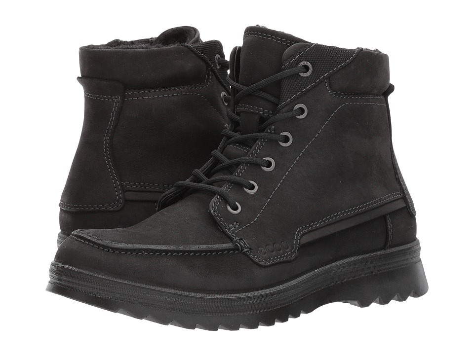 ECCO Darren Mid Cut Boot (Black) Men