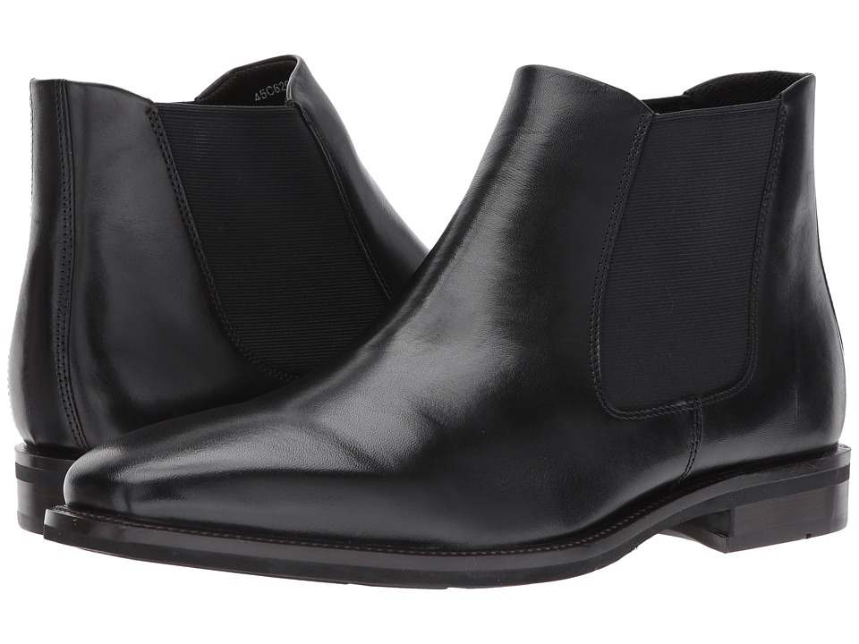 ECCO Faro Plain Toe Boot (Black) Men