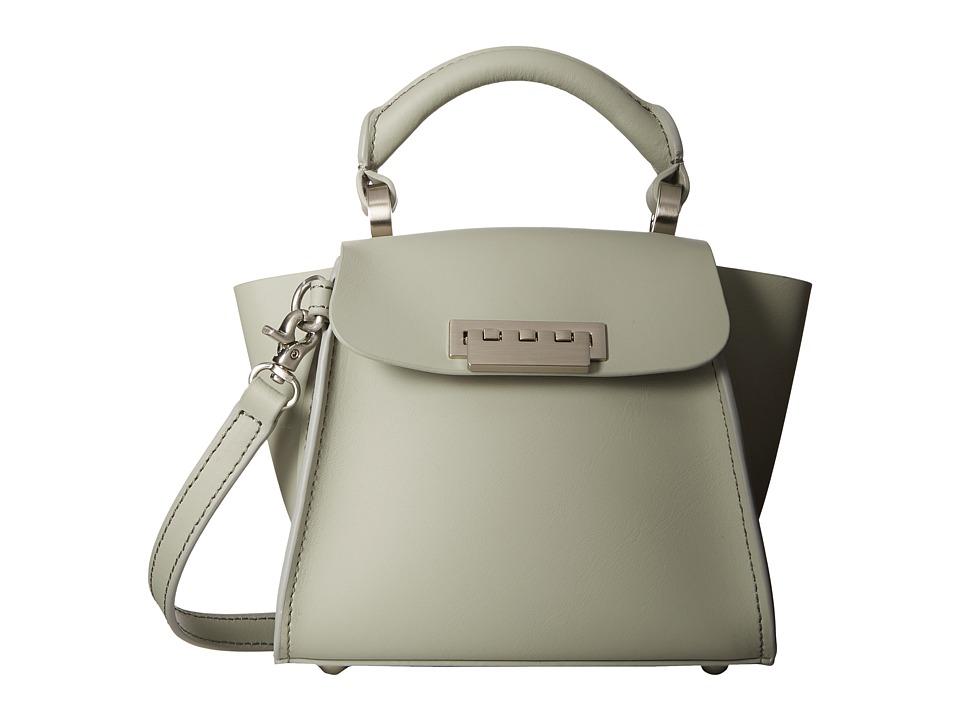 ZAC Zac Posen - Eartha Iconic Mini Top-Handle (Sea Salt) Top-handle Handbags