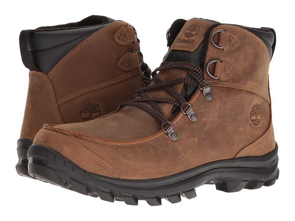 Timberland - Chillberg Mid Waterproof (Brown) Men's Shoes