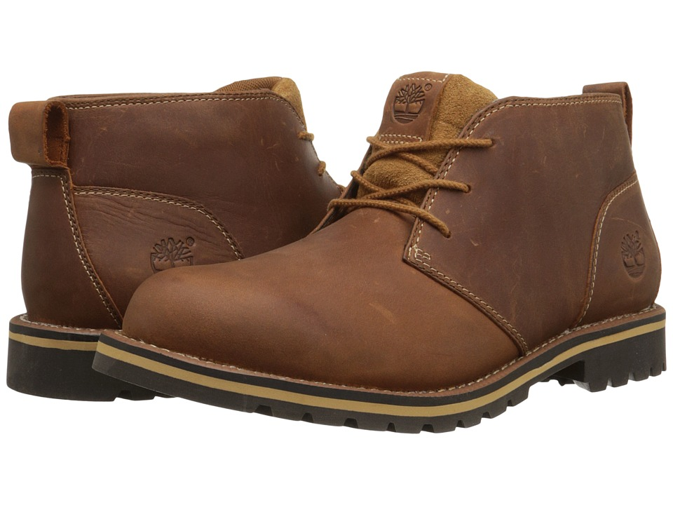 Timberland - Grantly Chukka (Brown Full Grain) Men's Shoes