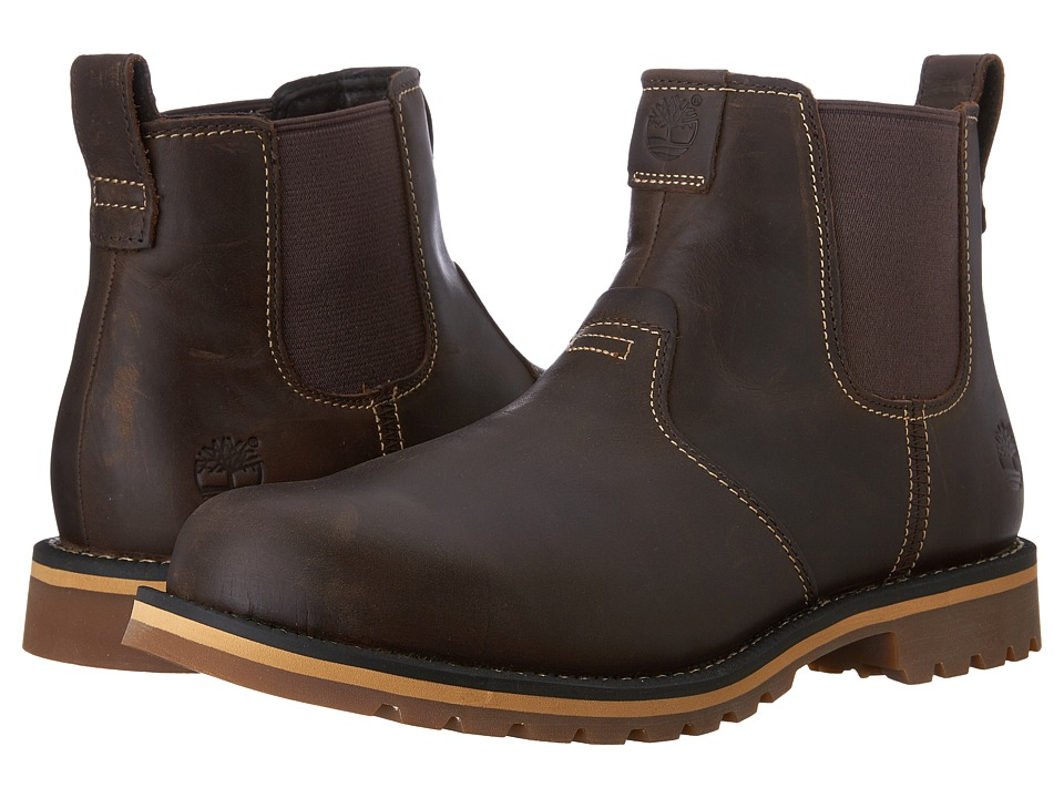 Timberland Grantly Chelsea (Brown Full Grain) Men