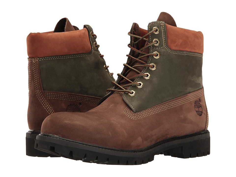 Timberland 6 Premium Boot (Dark Brown Nubuck) Men