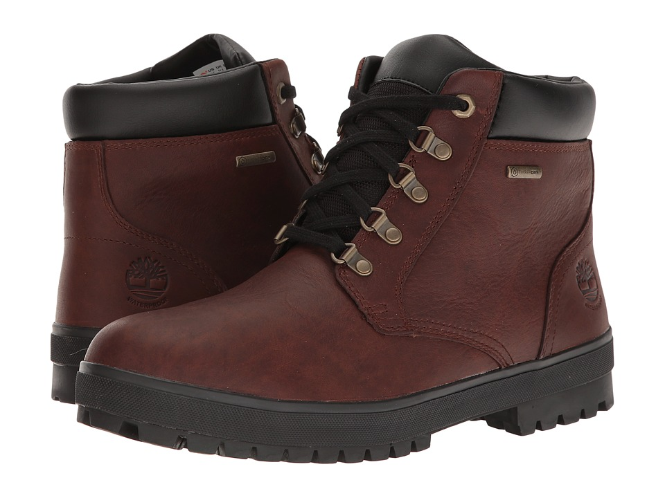 Timberland Bush Hiker Waterproof Chukka (Dark Brown) Men