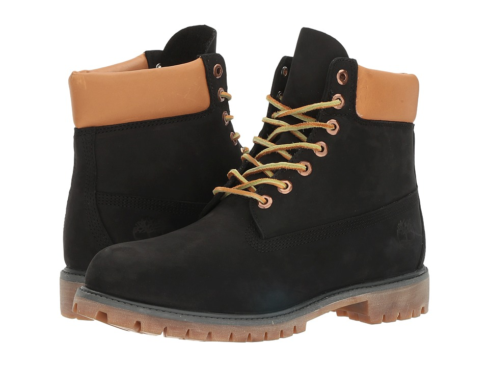 Timberland - 6 Premium Boot (Black) Men's Boots