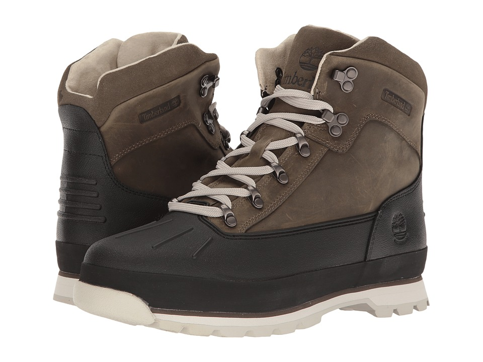 Timberland - Euro Hiker Shell Toe Waterproof (Grey) Men's Shoes