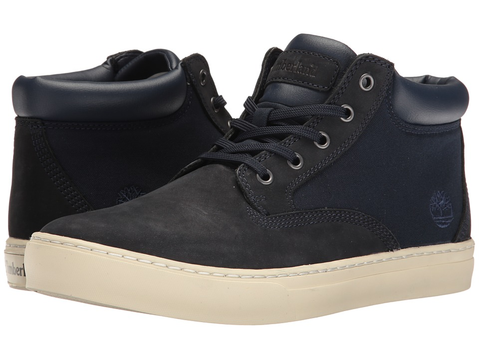 Timberland - Dauset Cup Chukka (Navy Fabric/Leather) Men's Shoes