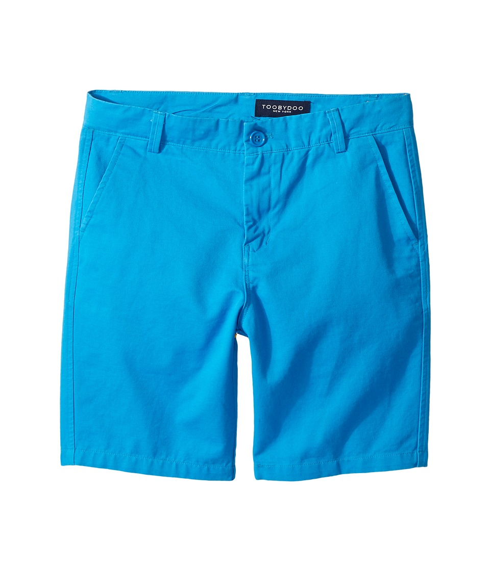 Toobydoo - Cobalt Blue Chino Shorts (Infant/Toddler/Little Kids/Big Kids) (Blue) Boy's Shorts