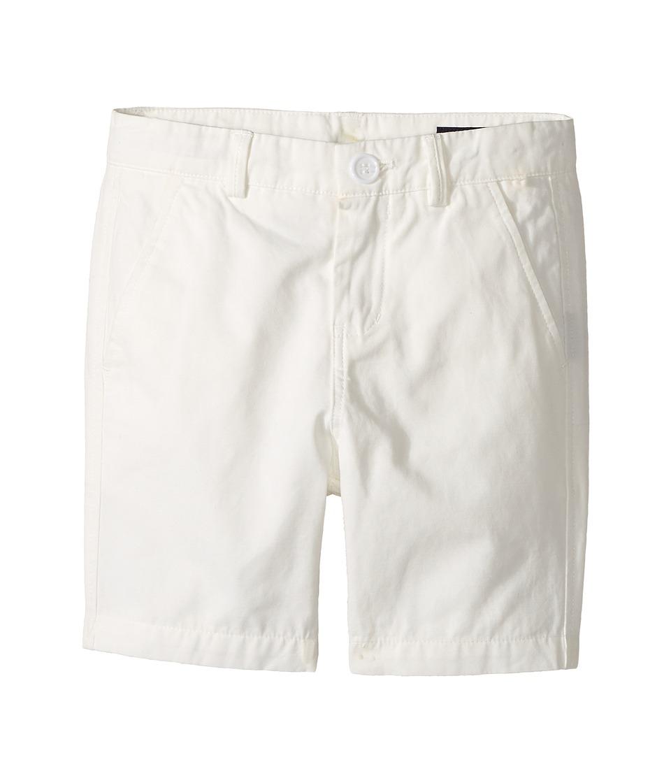Toobydoo - White Chino Shorts (Infant/Toddler/Little Kids/Big Kids) (White) Boy's Shorts