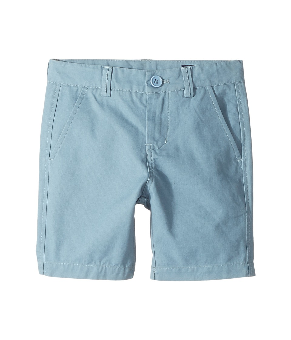 Toobydoo - Steel Blue Chino Shorts (Infant/Toddler/Little Kids/Big Kids) (Navy Blue) Boy's Shorts