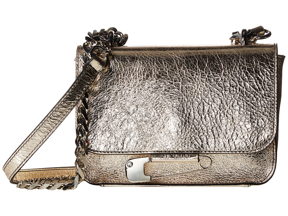 Sonia by Sonia Rykiel - Ligne Laura Small Flap Bag (Silver) Handbags