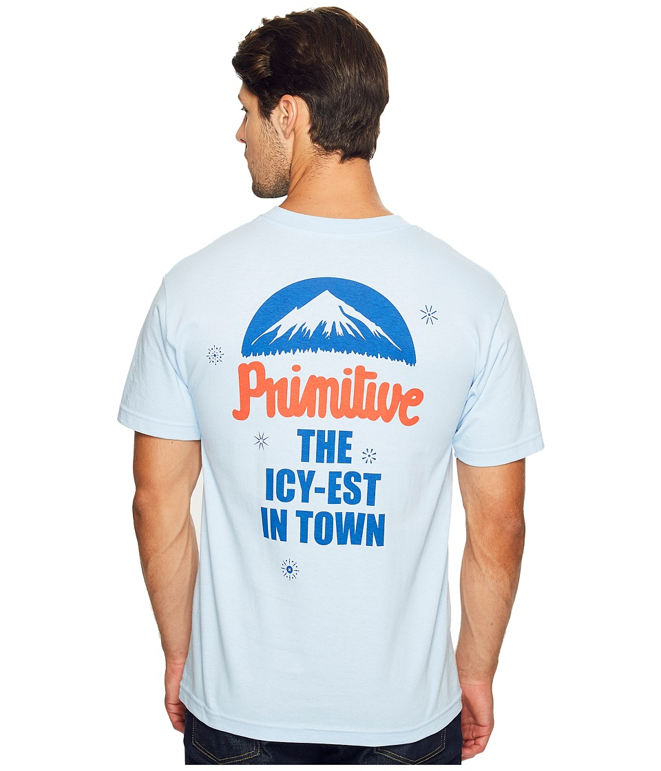 Primitive - Koned Tee (Powder Blue) Men's T Shirt