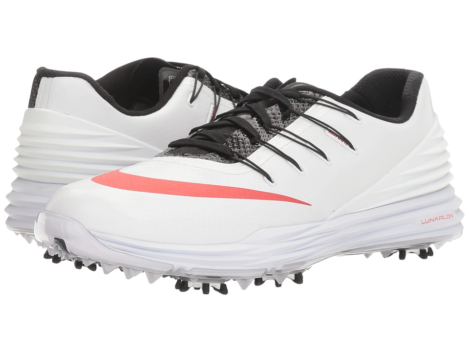 Nike Golf - Lunar Control 4 College (White/University Red/Black/Dark Grey) Women's Golf Shoes