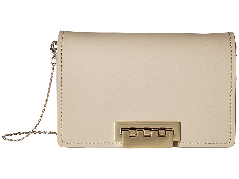 ZAC Zac Posen - Earthette Accordian Crossbody (Sand Dollar) Cross Body Handbags