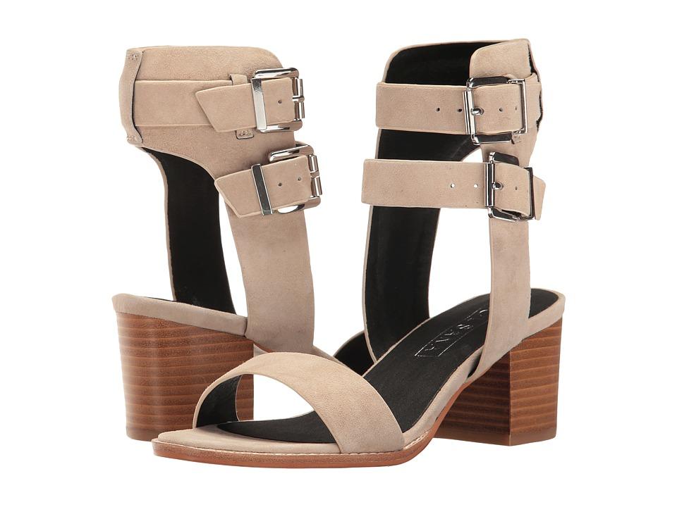 Sol Sana - Porter Heel II (Ecru Suede) High Heels