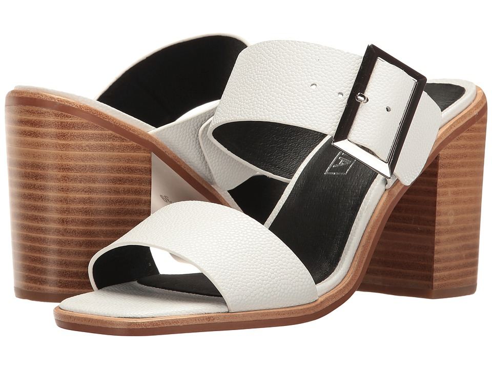 Sol Sana - Silvia Mule (White Stingray) Women's Shoes