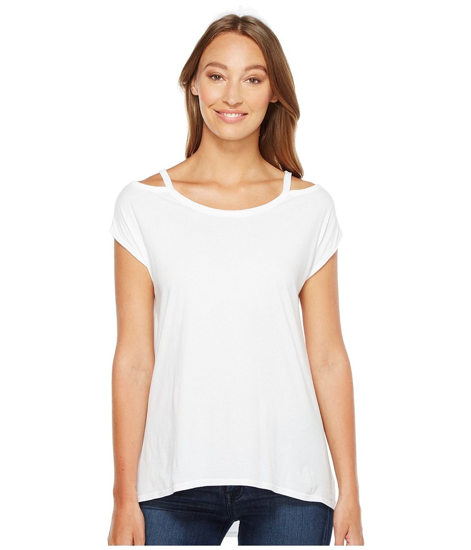 LAmade - Lotus Tee (White) Women's T Shirt