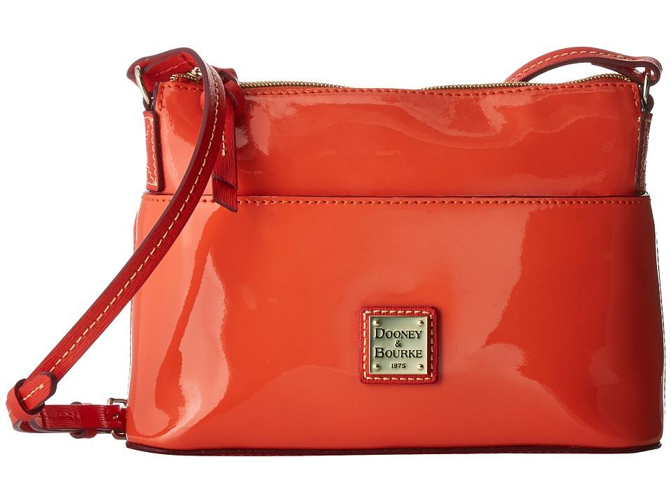 Dooney & Bourke - Ginger Crossbody (Clementine/Geranium Trim) Cross Body Handbags