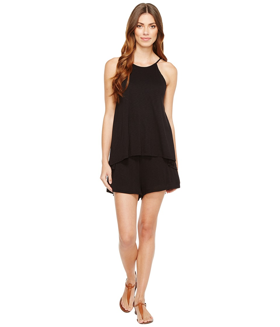 LAmade - Sisi Romper (Black) Women's Jumpsuit & Rompers One Piece