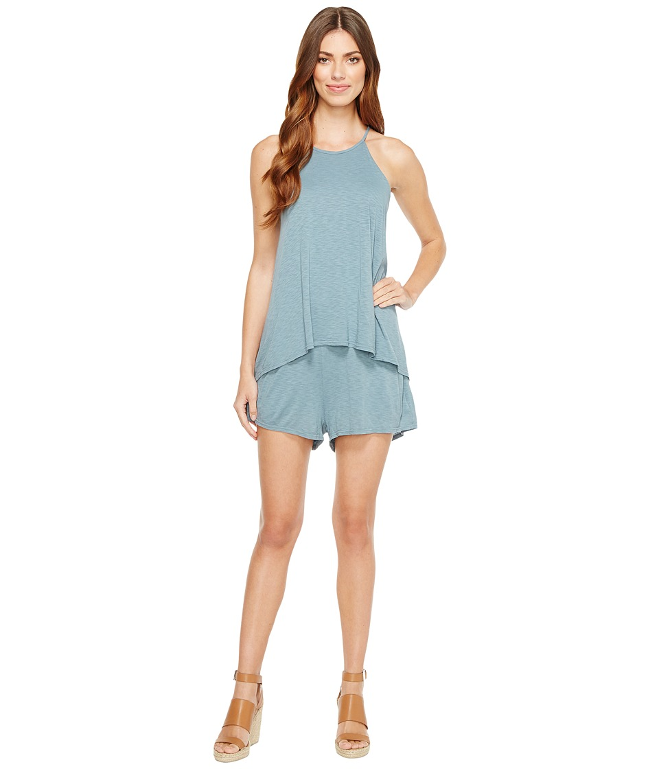 LAmade - Sisi Romper (Goblin Blue) Women's Jumpsuit & Rompers One Piece