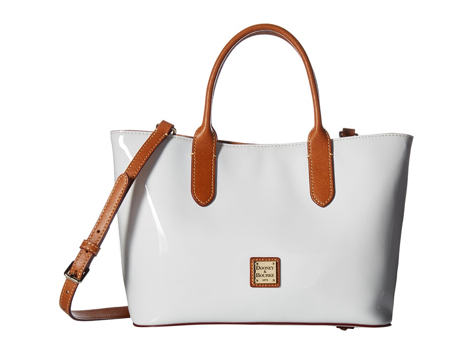Dooney & Bourke - Brielle (White/Nat Trim) Handbags