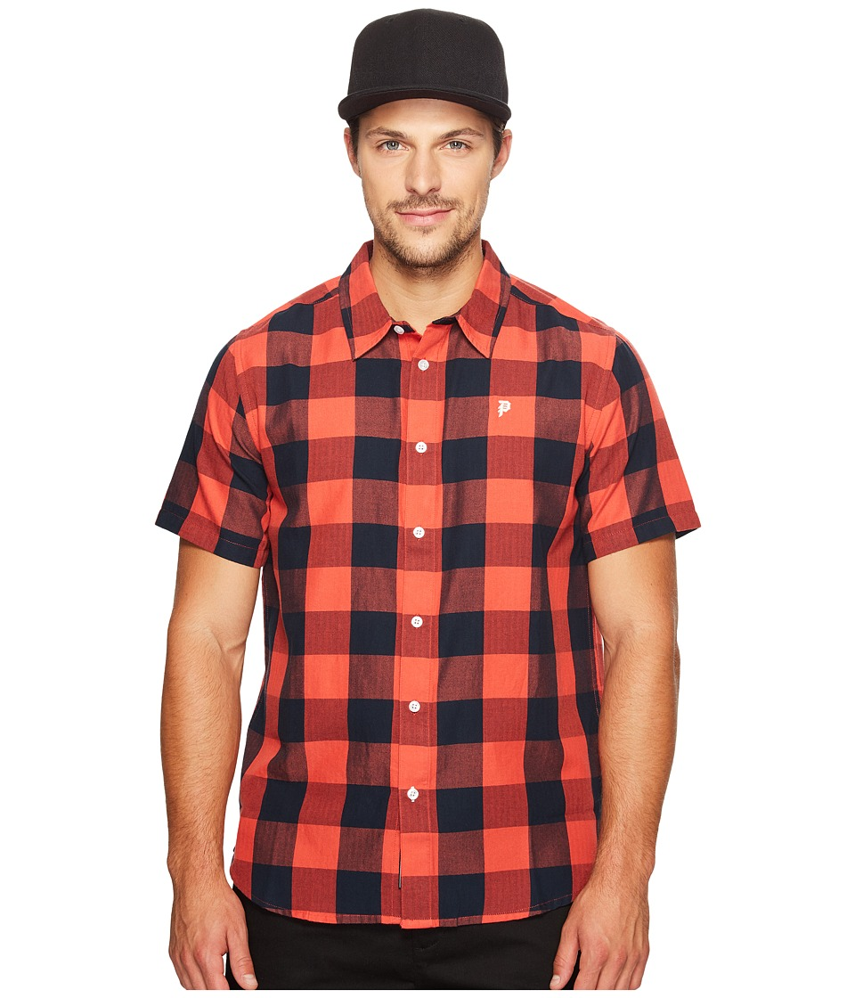 Primitive - Lightweight Buffalo (Cherry) Men's Clothing