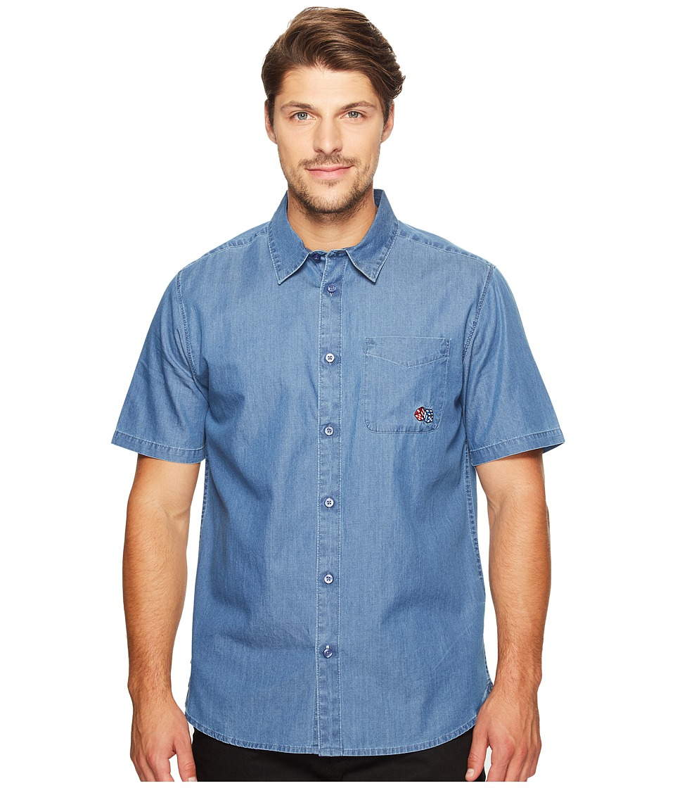 Primitive - Juice Short Sleeve (Indigo Denim) Men's Clothing