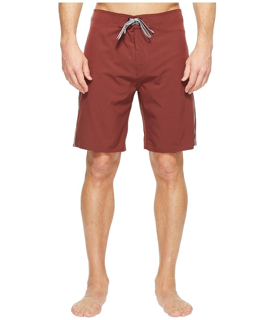 Captain Fin - Henry Boardshorts (Cognac) Men's Swimwear