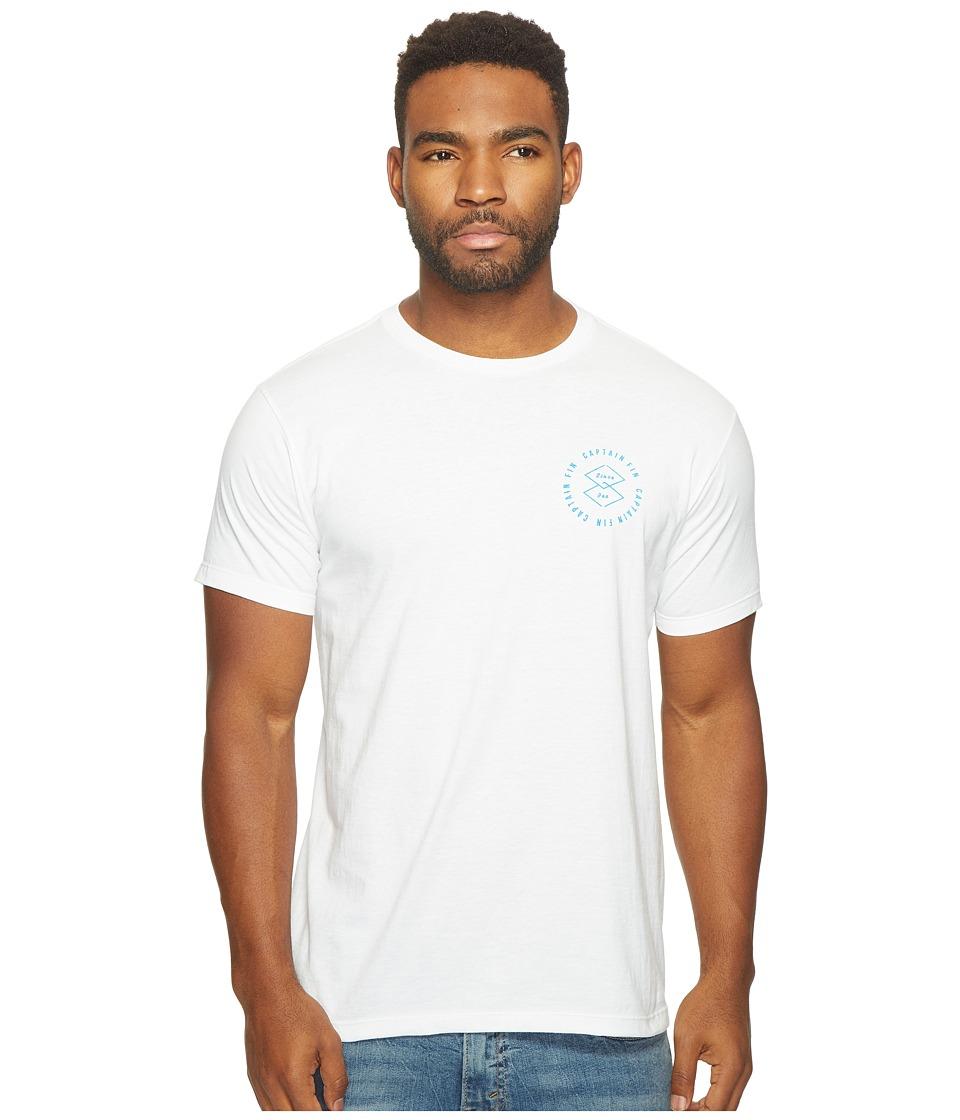 Captain Fin - Diamonds Forever Tee (White) Men's T Shirt
