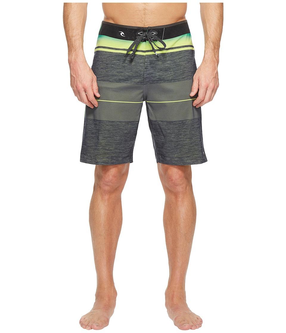 Rip Curl - Mirage MF Eclipse Ult Boardshorts (Grey) Men's Swimwear