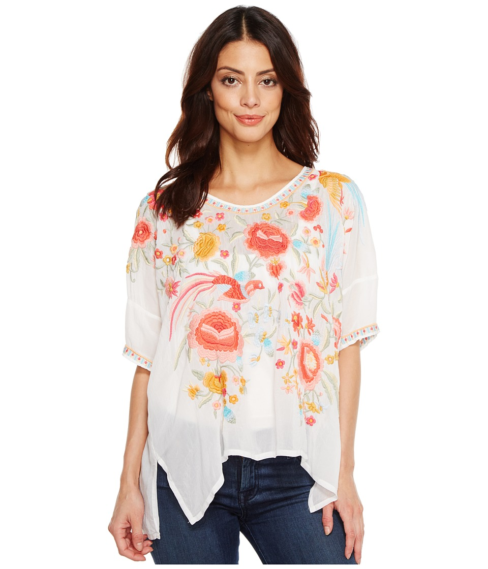 Johnny Was - Rubi Blouse (White) Women's Blouse